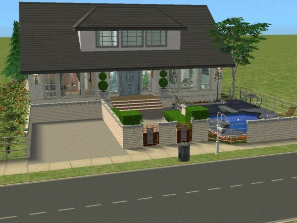 Villa killiarney maisons deco sims2 for Maison moderne sims 4