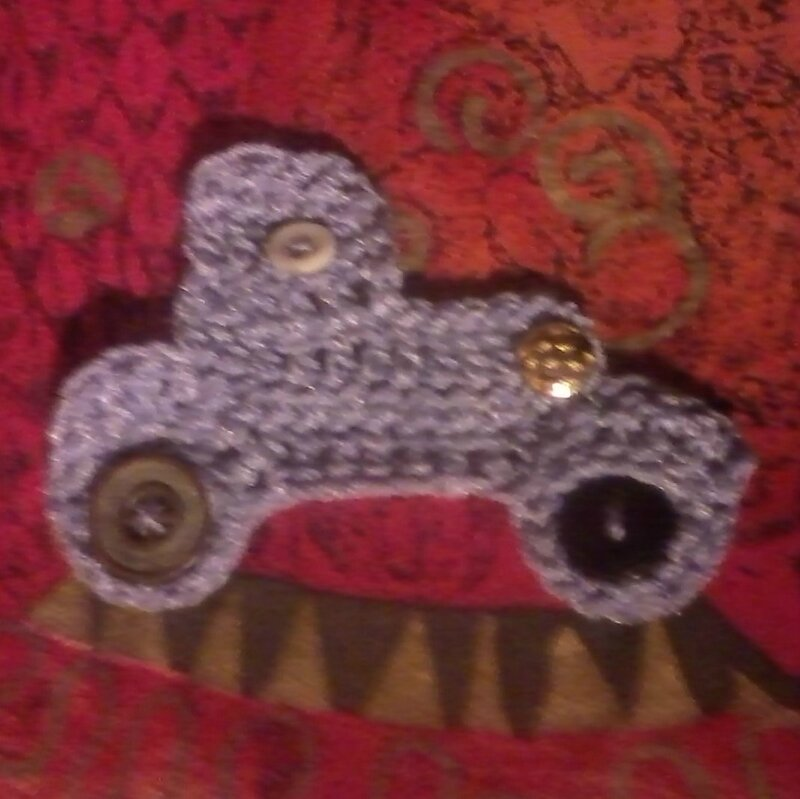appliqué crochet