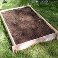 Au jardin : le carré potager en lasagnes