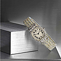 An important belle époque seed pearl and diamond lady's wristwatch, cartier, circa 1913