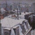 Neige toits de Paris