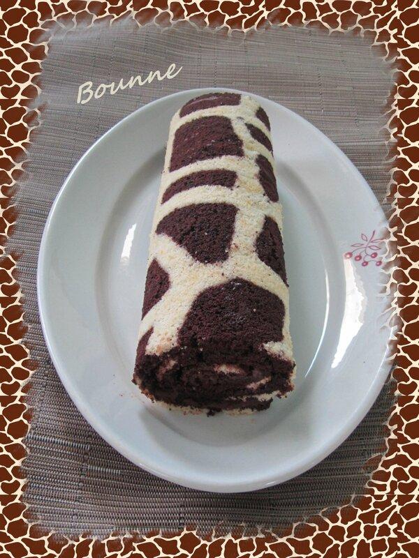 gâteau roulé girafe (5)
