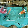 {do it yourself : belle dentelle pour un joli short..}
