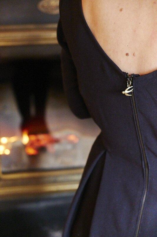 Robe Bordeaux Romanne Couture 11