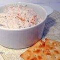 Tartinade sardine-fromage à tartiner