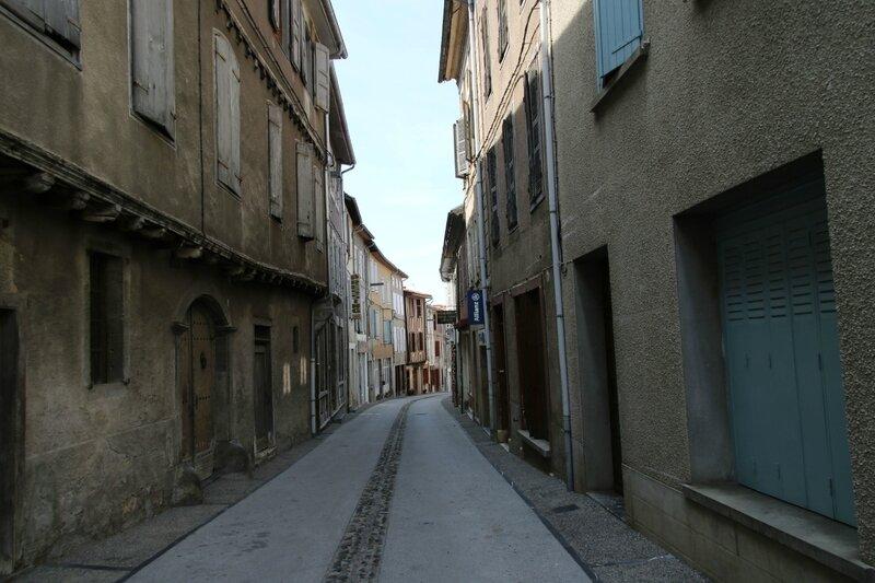 Une des rues du village