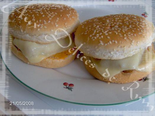 Mes fish burgers
