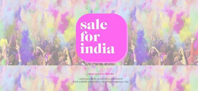 Sale for India_Care France