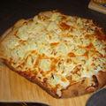 Pizza au chou-fleur de s.