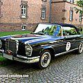Mercedes 220 se cabriolet de 1963 (paul pietsch classic 2014)