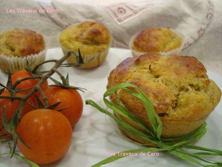muffins pesto jambon cru 1