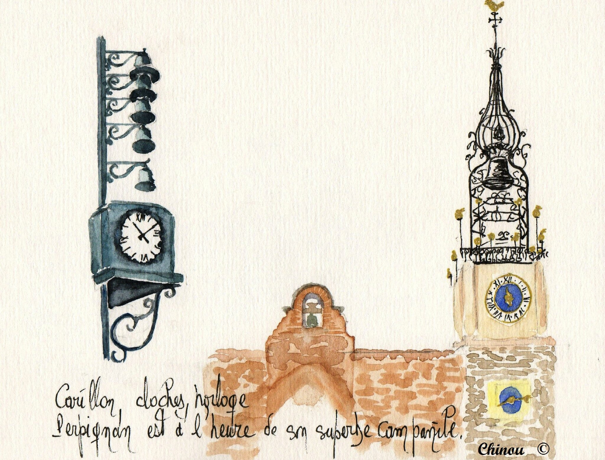 Perpignan campanile