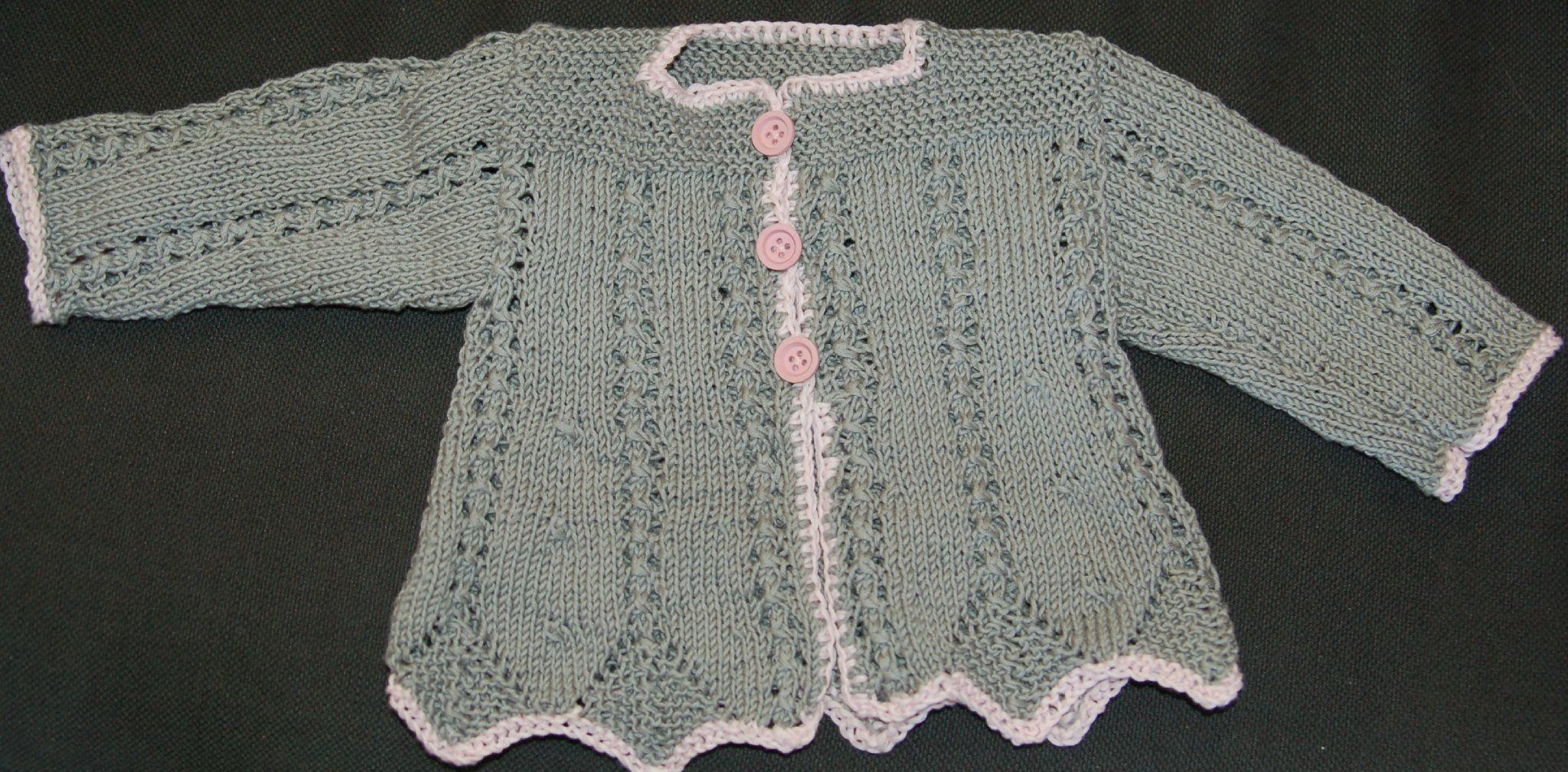modèle robe tricot coton