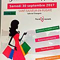 30 septembre, shopping à st sauveur !