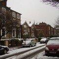 Londres ... sous la neige