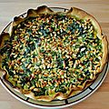 Recette de la Tarte aux Epinards