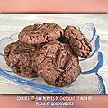 Cookies aux pépites de chocolats et noix de pécan