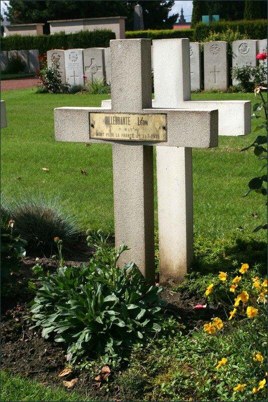 Soldat HILLEBRANTE Léon 7e RIT