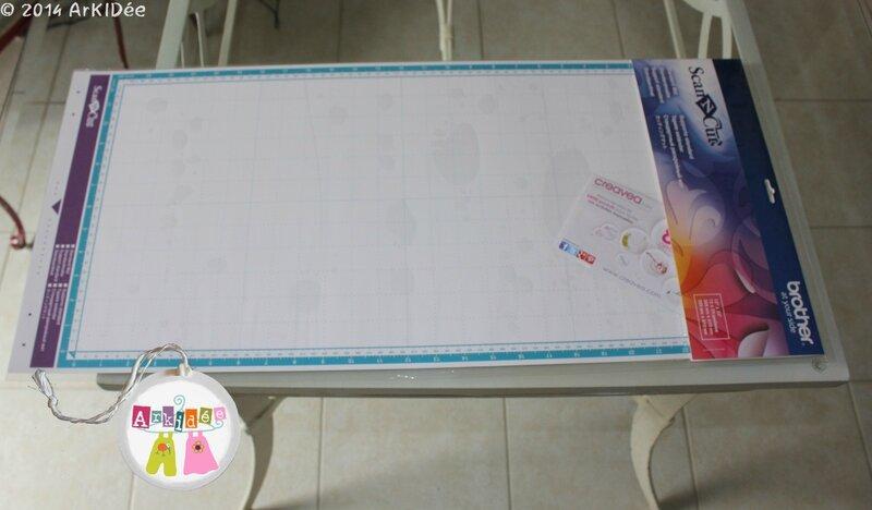 Grand support 30x60 cm Scan N Cut