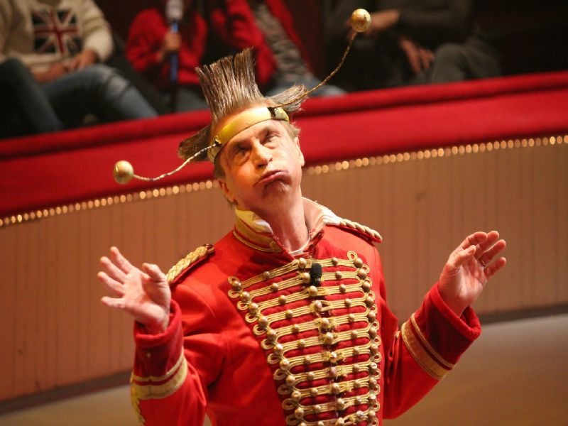 Cirque d'hiver - Clown - Non c'est pas moi