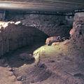L'abbaye de caunes-minervois, la crypte
