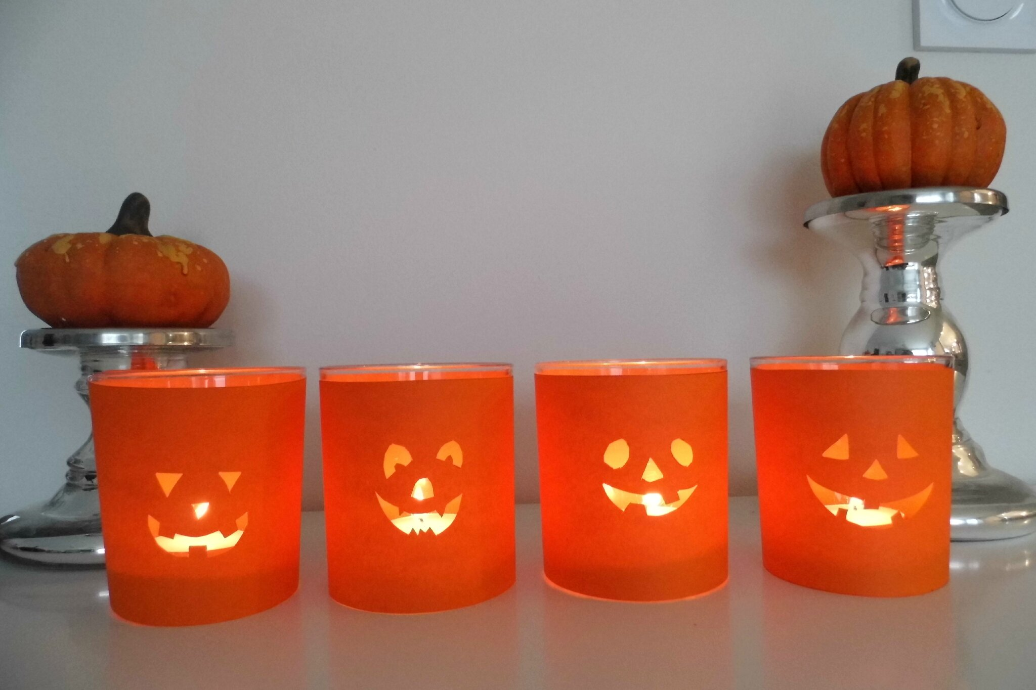 Superb deco halloween a faire sois meme 14 id e de d co for Idee deco halloween