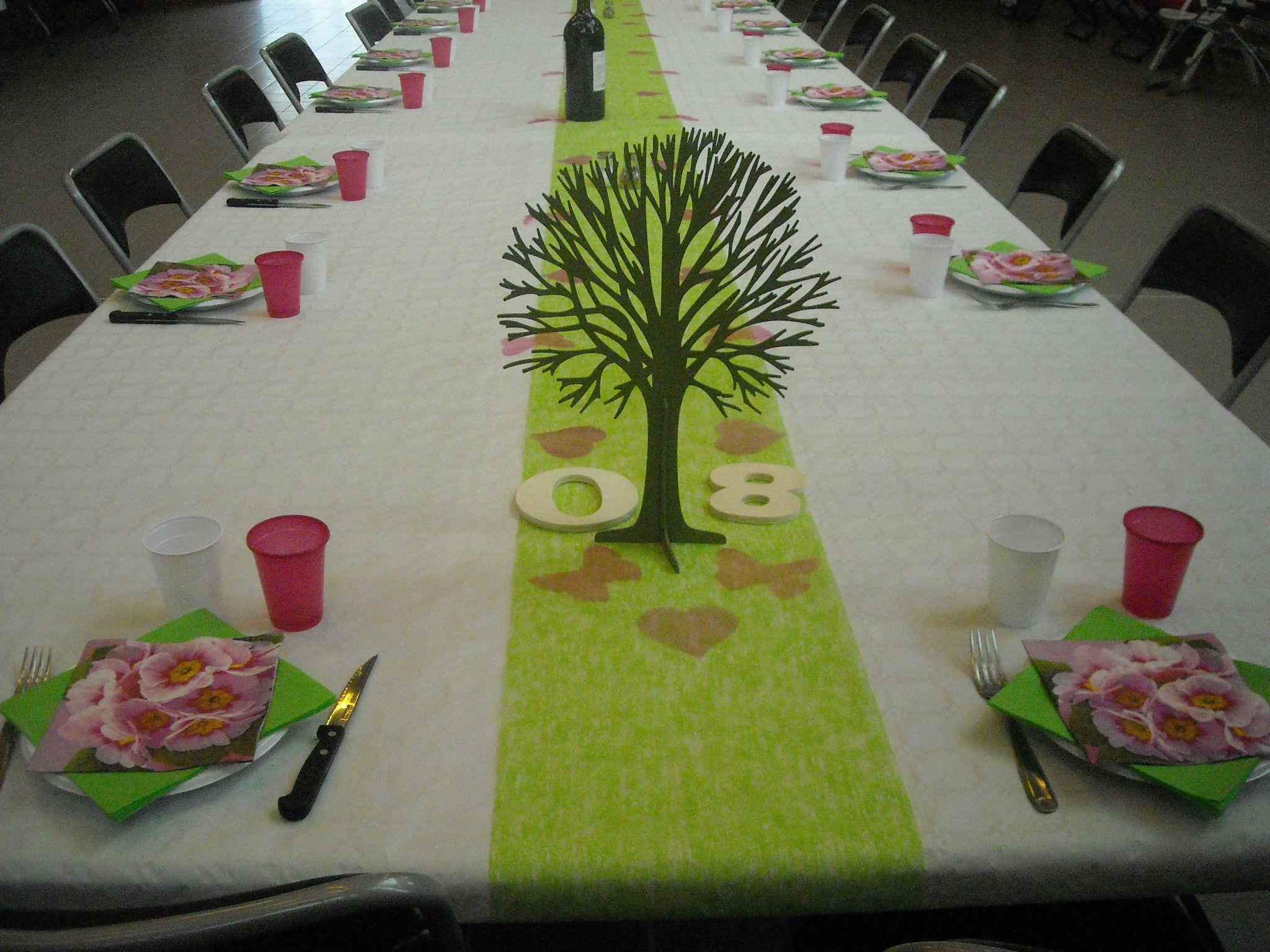 Les 80 ans de maman instants magiques - Anniversaire decoration table ...