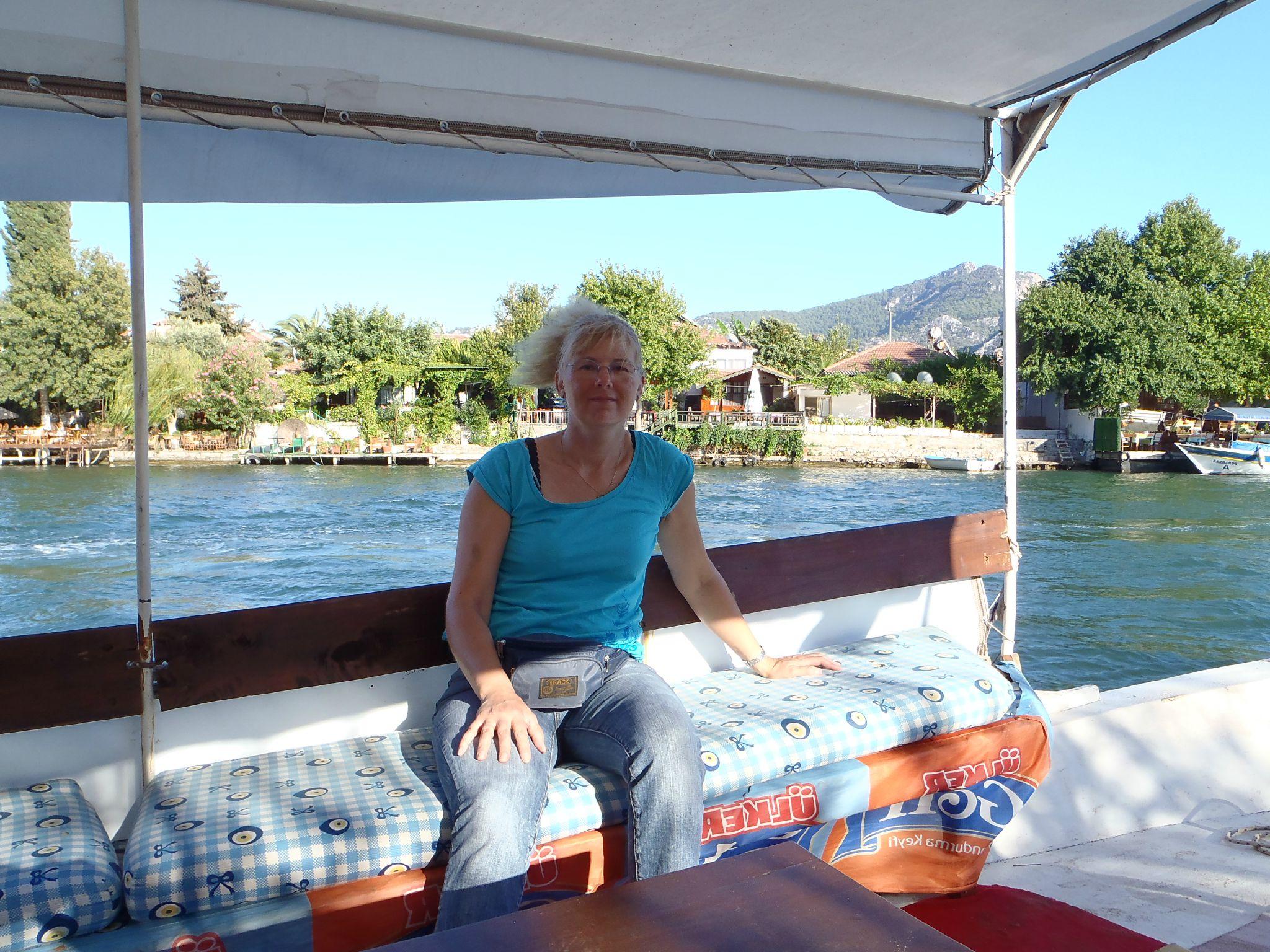 turquie : dalyan croisiere sur la riviere