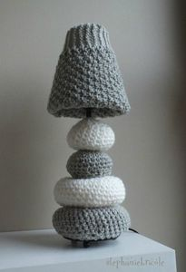 lampe totale knitting