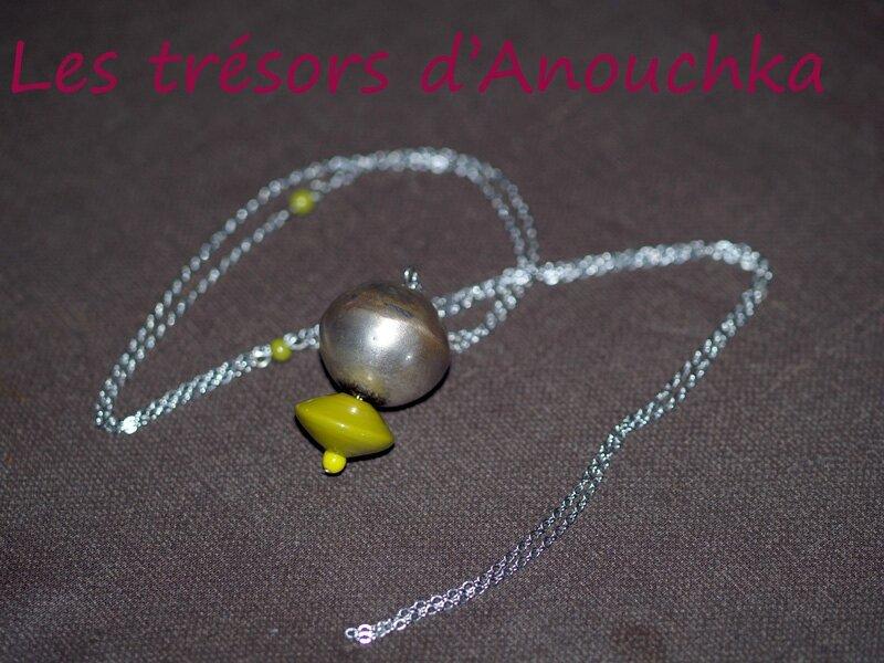 boule-argent-perle-verte