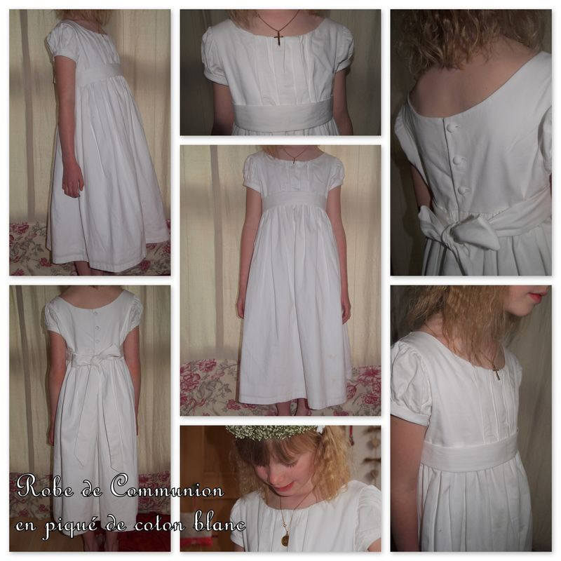 Robe de communion Romane