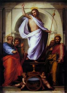 Salvator Mundi Fra Bartolomeo 1516 Palazzo Pitti FLORENCE