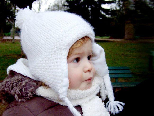 Berühmt Bonnet péruvien blanc - momobricole ZL08