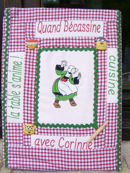 cahier cuisine bécassine