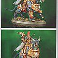 Cavalerie stormcast eternals et un futur énorme dragon ! màj : photos supplémentaires