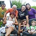 Le clan BELANGER (Aout 2011)