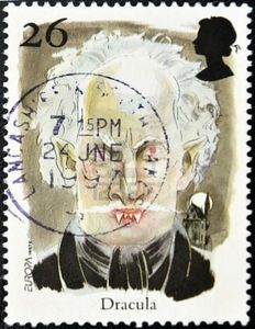 10748613-uk--circa-1997-a-stamp-printed-in-united-kingdom-shows-dracula-circa-1997