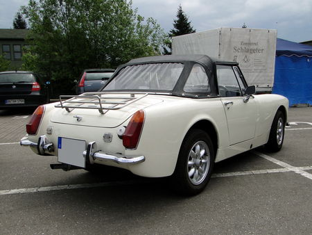 MG Midget Roadster 1961 1979 Motoren und Power Lahr 2010 2