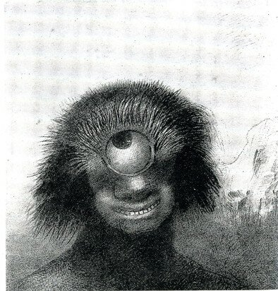 Odilon redon le cyclope 1898 le l zard appliqu for Interieur chic haiti