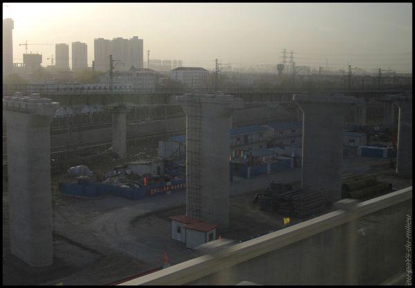 voies de chemin de fer de Chine grande vitesse et petite vitesse 14