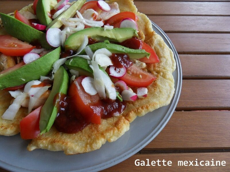 galette mexicaine
