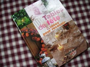 tables de fête et idées pour recevoir