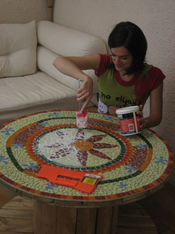 Comment faire une table en mosaique - ste hono