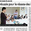 article de journal La Montagne 03052013