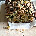 Cake au chou kale et au maïs