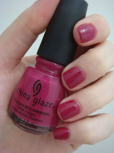 China Glaze - designer satin