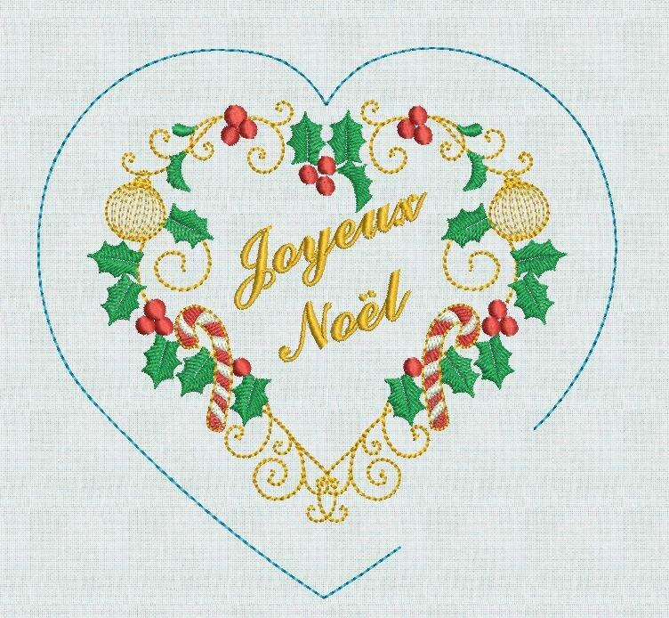 Coeur Joyeux Noel