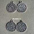 Médailles Vierge à l'Enfant