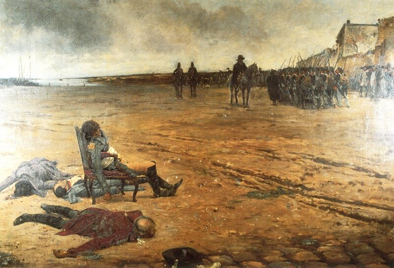 Mort du général d'Elbée