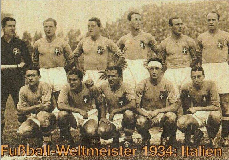 1934 CPM Equipe Italie